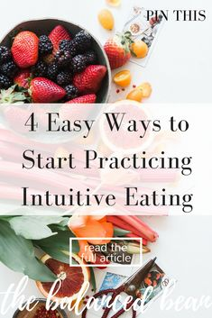 How to eat intuitively. Use these tips to eat when you're hungry and stop when you're full. Don't break the bank trying to life a healthy lifestyle. Use these tips to actually save serious cash while living healthy The Balanced Bean | Health + Wellness + Lifestyle + Self-Care Tips For Millennial Women Seeking Balance