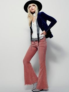 Free People Cord Super Flare, $78.00