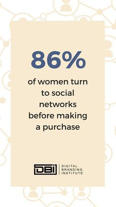 of women turn to social networks before making a purchase. Content Marketing, Social Media Marketing, Digital Marketing, Email Marketing, Business Goals, Business Planning, Business Tips, Search Optimization, Website Maintenance