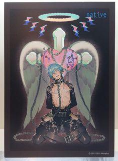 Official art for nitro+'s Aoba figure ------- omfg i fucking can't >///< what happened to my purity? Hot Anime Boy, Cute Anime Guys, Anime Love, Manga Anime, Anime Art, Ai No Kusabi, Dramatical Murder, Levi X Eren, Handsome Anime Guys