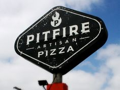 Pitfire Pizza Restaurant Branding | Restaurant branding, marketing and other notes on various design topics