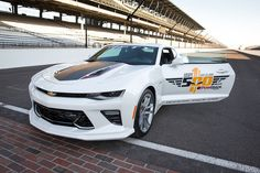 2017 Chevy Camaro SS 50th Anniversary Edition to pace Indy 500. http://www.carid.com/