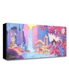 Fantasia Garden of Beauty Limited Edition Wrapped Canvas