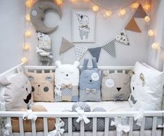 Must have Baby Cot Bumpers Add the finishing touches to nursery with this gorgeous bumper made with you in mind. Handmade Crib bumper Pillow Top quality finished and with you in mind. Made with eco-tex standard cotton. Filling: polyester (not allergic) Baby Bedroom, Nursery Room, Boy Room, Kids Bedroom, Nursery Decor, Baby Cot Bumper, Baby Pillows, Throw Pillow, Baby Decor