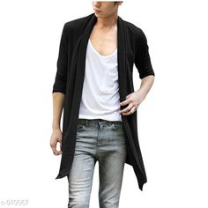 Shrugs Fashionable Men's Cotton Solid Shrug Fabric: Cotton  Sleeves: Full Sleeves Are Included Size: S M L XL XXL  (Refer Size Chart ) Length: (Refer Size Chart ) Type: Stitched Fit: Slim  Description: It Has 1 Piece of Men's Shrug Pattern: Solid Country of Origin: India Sizes Available: S, M, L, XL, XXL *Proof of Safe Delivery! Click to know on Safety Standards of Delivery Partners- https://ltl.sh/y_nZrAV3  Catalog Rating: ★4 (5170)  Catalog Name: Men's Smarty Cotton Solid Shrug Vol 5 CatalogID_106842 C70-SC1469 Code: 543-910067-