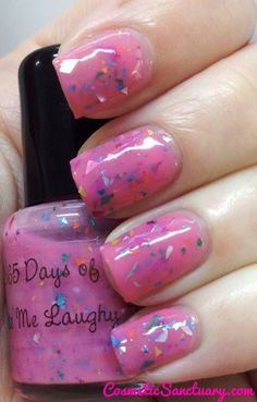 365 Days of Color - Make Me Laugh-y Taffy  (photo by Cosmetic Sanctuary)