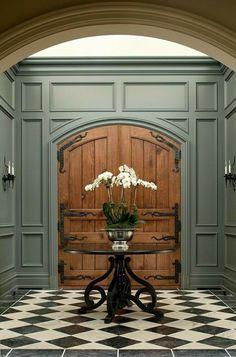 Foyer Design, Design Entrée, House Design, Design Styles, Decor Styles, Design Trends, Interior Exterior, Home Interior Design, Interior Design Inspiration