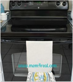 Hi there! I wrote this post showing How To Clean Your Ceramic Stovetop exactly two years ago...I can't believe it's been that long! I shared this post and How To Clean In Between the Glass on Your Oven Door right around the same time, and thought I would share it again since there are so many new readers here at Mom 4 Real!