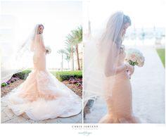 Pink Gown { blake + jeff | eau palm beach resort + spa | manalapan wedding photography } | CHRIS JORIANN {fine art} PHOTOGRAPHY | b l o g