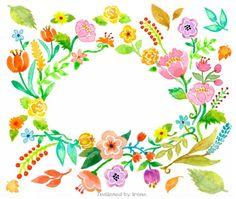 Watercolor-flower❤️
