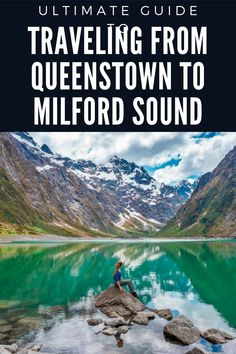 Plan the ultimate trip from Queenstown to Milford Sound and see some of the most beautiful places! You will not regret this trip! Road trip New Zealand / Most beautiful places in New Zealand / New Zealand travel inspiration Road Trip New Zealand, New Zealand Travel, Milford Sound, Travel Inspiration, Things To Do, Beautiful Places, How To Plan, Water, Outdoor