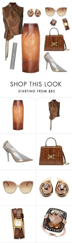 """Tanned up"" by bankemelange ❤ liked on Polyvore featuring Tom Ford, Ann Demeulemeester, Gucci, Linda Farrow Vintage, Christian Dior, GUESS and Effy Jewelry"