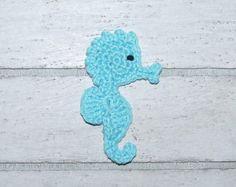 2 fish Application CROCHET fish by josasumaschendesign on Etsy Crochet Fish, Dinosaur Stuffed Animal, Unique Jewelry, Handmade Gifts, Animals, Vintage, Tela, Patches, Hand Made