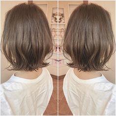おばた もとし💇♀️ネオウルフ✂️大人ハイライト✨さんはInstagramを利用しています:「【先日インスタに載せてるハイライトと外ハネボブにしたいって御来店のお客様😍💙】 ・ ハイライトはかなりこだわりがあるのでやりたいっていってくれるととても嬉しいです😭😭😭 ・ 本当にありがとうございます✨🙇♂️ ・ 丁寧にお客様の髪質、骨格、ライフスタイルもお伺いした上で施術を行いま…」 Medium Hair Cuts, Medium Hair Styles, Short Hair Styles, Hair Makeup, Hair Color, Hair Beauty, Hairstyle, Women, Instagram