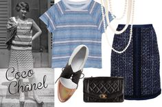 Tory Burch A-line Skirt, out of stock; farfetch.com Fine Collection Linen Crop Tee, $91; otteny.com Anthropologie Rose-Capped Oxfords, $228; anthropologie.com Lanvin Pearl Gloria Multistrand Necklace, $1,745; barneys.com Chanel Vintage Quilted Cross Body Bag, $4,987.70; farfetch.com