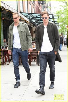 Brothers Alexander & Bill Skarsgard Spend Time Together Ahead of Met Gala 2017!: Photo 3892539 | Alexander Skarsgard, Bill Skarsgard Pictures | Just Jared