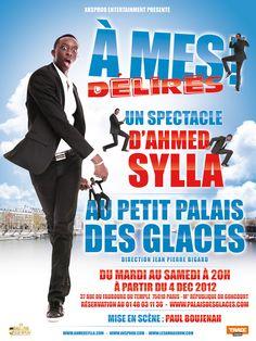 Ahmed Sylla: son premier spectacle au Petit Palais des Glaces