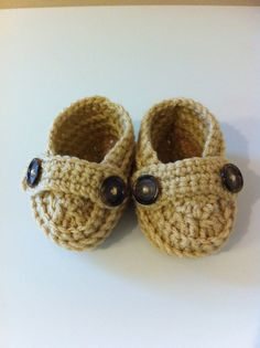 Button Baby Loafers