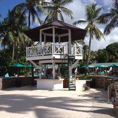 The beach bar, home of the kiss kiss