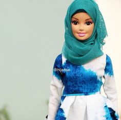 I've been seeing Hijarbie in the news lately and... - Be Who You Wanna Be!