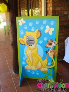 the+lionkingparty+theme | ... Crazy Chameleon Kiddie Parties | If you can dream it, we can theme it