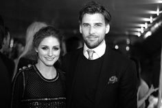 Olivia Palermo and Johannes Huebl in Cannes