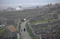 Stone Walls of the Aran Islands. Stone walls and buildings checker the rough landscape of the Aran Islands, located off the west coast of Ireland. Aran Islands Ireland, West Coast Of Ireland, Irish Sea, Romantic Places, Pictures Of People, Ireland Travel, Galway Ireland, Cork Ireland, Europe