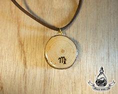 constellation necklace Virgo Star Necklace Zodiac by MagicHourLab
