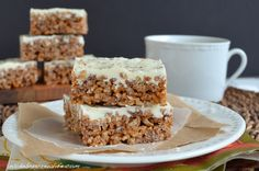 Bakeaholic Mama: Pumpkin Spice Latte Krispie Treats ~ And a Gift Card Giveaway!~
