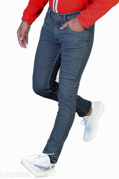 Checkout this latest Jeans Product Name: *MENS DENIM JEANS * Fabric: Denim Pattern: Solid Multipack: 1 Sizes:  30 (Waist Size: 15 in, Length Size: 41 in, Hip Size: 18 in)  32 (Waist Size: 16 in, Length Size: 41 in, Hip Size: 19 in)  34 (Waist Size: 17 in, Length Size: 41 in, Hip Size: 20 in)  36 (Waist Size: 18 in, Length Size: 41 in, Hip Size: 21 in)  38 (Waist Size: 19 in, Length Size: 41 in, Hip Size: 22 in)  40 (Waist Size: 20 in, Length Size: 41 in, Hip Size: 23 in)  Country of Origin: India Easy Returns Available In Case Of Any Issue   Catalog Rating: ★3.9 (402)  Catalog Name: Gorgeous Trendy Men Jeans CatalogID_2102303 C69-SC1211 Code: 406-11255828-3051