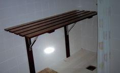 Platforma pt discapacitati baie  lemn