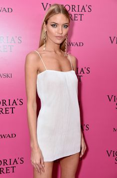 Model Martha Hunt attends the 2017 Victoria's Secret Fashion Show In Shanghai After Party at Mercedes-Benz Arena on November 20, 2017 in Shanghai, China.