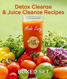 Detox Cleanse  Juice Cleanse Recipes Made Easy Smoothies and Juicing Recipes * You can find more details by visiting the image link.