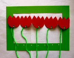 Basteln5/basteln-Rahmen-Tulpen-Wolle