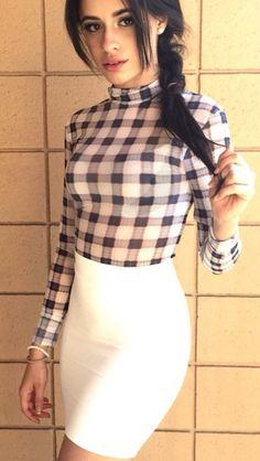 Picnic checkered long sleeve shirt <3