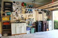 "Organizing (and installing a ""mudroom"" in) the Garage"