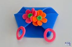 Resultado de imagen para moldes para cotillon de goma espuma Foam Crafts, Diy Crafts, Spring Party, Ideas Para Fiestas, Party Themes, Halloween Costumes, Birthday Parties, Crochet, Floral