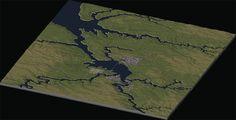 region river layout