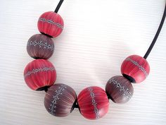 Polymer clay hollow beads | Renata | Flickr