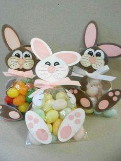 Tiernos dulceros y porta dulces de conejitos