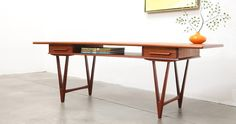 1950s Danish Modern Coffee Table designed by E.W. Bach