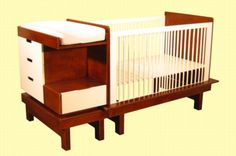 Crib With Changing Table Attached | Argington Rocks Casbah With Sahara Crib/Delphi  Changing Table