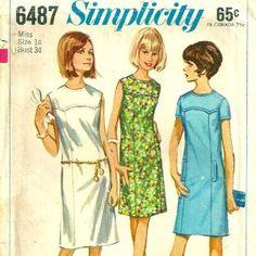 Simple.1960s pattern