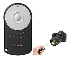 CamInn Shutter Release Remote Control Wireless Timer for Canon EOS 5D Mark II III EOS 7D 550D 500D 450D 60D 650D XTXTi XSi T1i T2i Camera Accessories ** Continue to the product at the image link.