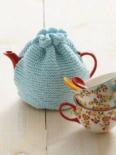 Tea Cozy | Yarn | Free Knitting Patterns | Crochet Patterns | Yarnspirations