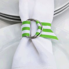 Napkin rings, but another color