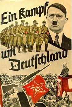 """Exponat: Broschüre: """"Ein Kampf um Deutschland"""", 1933"""
