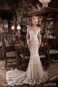 Naama & Anat Fall Winter 2016 Wedding Dress