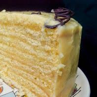 Con este trozo de torta de panqueque naranja doy inicio al curso  Tortas básicas   Torta de panqueque naranja   Torta de tres l...