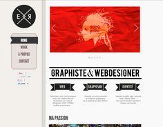 Emmeran Richard | Graphiste & Webdesigner website design.  www.emmeranrichard.fr  #webdesign #web #online #graphicdesign